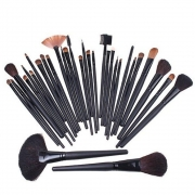Makeup Brush- Professionelles 32 teiliges Make-up Artist Kosmetik Pinsel Bürsten Set / Kit inklusive Etui