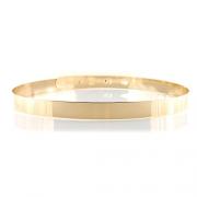Mode Silber/Gold Metallgürtel Damenschmuck