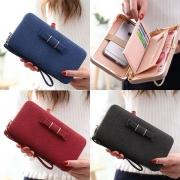 Elegante Damen Clutch Geldtasche mit Handgürtel - passt iPhone 6S/ 6S Plus da rein