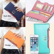 Fashion süße Damen Geldbörse Geldtasche Clutch mit Bowknot
