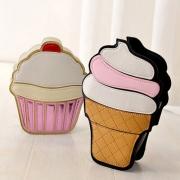 Cute Ice Cream/Cake Shaped Shoulder Messenger Bag