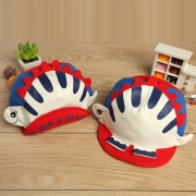 Nette 3D-Dinosaurier Mütze für Kinder