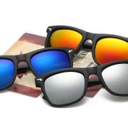 Retro Hai Camouflage Quadratische Gestelle Sonnenbrillen Damenschmuck