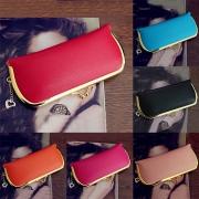Elegant Solid Color Hasp Wallet For Women