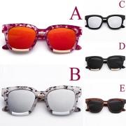 Mode Quadratischer Rahmen Anti-UV Sonnenbrille