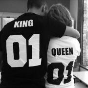 Fashion Familie / Ehepaar T-Shirts - König / Königin / Prinz / Prinzess