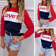 Sweatshirt im Colorblocking-Look (Das Shirt fällt klein aus.)