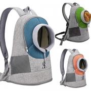 Moderner Rucksack für Haustiere mit Kontrastierenden Farben