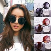 Retrostil Rundes Gestell Unisex Sonnenbrille