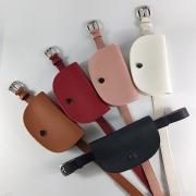 Fashion Solid Color Waist Bag Clutch