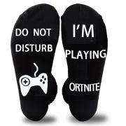 Fashion Letters Printed Breathable Socks-2 pair/Set