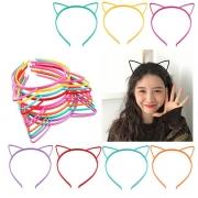 Schönes Haarband-Set mit Katzenohren 3 Stück / Set
