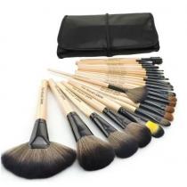 Holz-Schwarz 32pcs Stück, Satz von Bürste, Make-up Pinsel, Satz professioneller kosmetischer Kosmetik