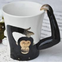 Orang-Utan Handgemachte Kaffeetasse