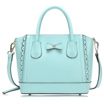 Bowknot Double Handle Tote Shoulder Bag Handbag