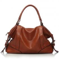 Klassische Handtasche vom europäischen Stil mit reiner Farbe