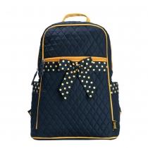 Stilvoller netter Rucksack mit Polka-Punkt und Schmetterlingsknoten