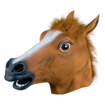 Pferdekopf-Maske