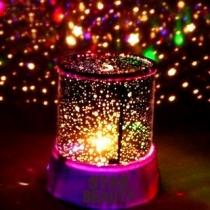 LED-Nachtlicht mit Schönheit des Sternenlichts, LED-Lampen-Projektor, Nachtlichter mit USB-Kabel