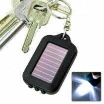 Solarbetriebene LED-Taschenlampe / Schlüsselanhänger
