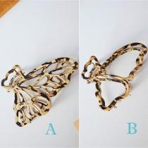 Nettes in Schmetterlingsform Ausgeschnittene Haarnadel