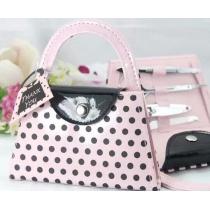 Pink Polka Purse Manicure Set
