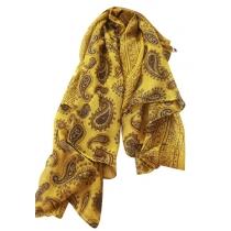 Paisley-Schal mit Blumendruck vom Volkston