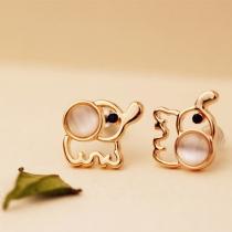 Cute Fashion Elephant Earrings