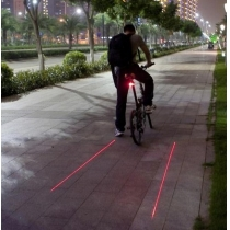 Mini Bicycle Bell LED Ping Ring Lever Cycle Push Bike