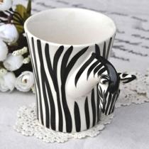 Mode Zebra Handgemachte Kaffeetasse