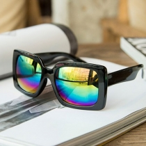 Fashion Colorful Square Frame Sunglasses