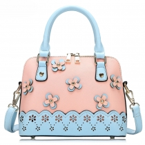 Fashion Floral Print Handbag with Shoulder Strap