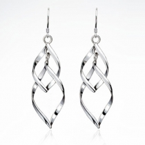 Paar Ohrhänger - Silber 925 Sterling Silver Ohrringe