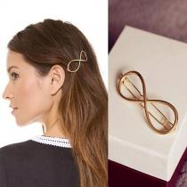 Fashion praktische 8-förmige Scheere Haarnadel Haarzusätze aus Legierung