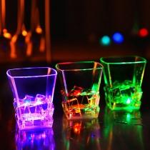 Kreative LED Sensor Licht Whiskyglas