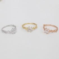 Eleganter Dendrite Gewickelter Schmetterlings-Ring
