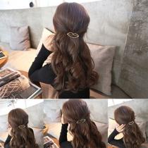 Mode Elegant Geometrisch Dreieckig Haarnadel