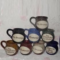 Retro Buchstaben Bedruckt Keramik Keramische Tasse