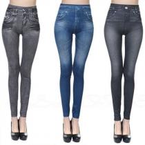 Fashion High Waist Stretch Leggings