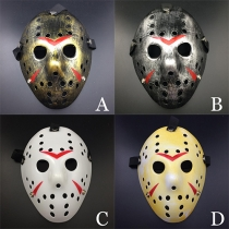 Lustige Ausgeschnitten Halloween-Maske