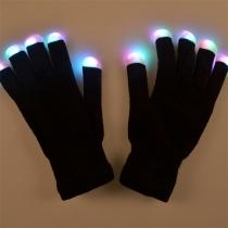 Kreative Bunte LED-Beleuchtung Handschuhe