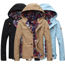 Fashion Herren Jacke mit Kapuze