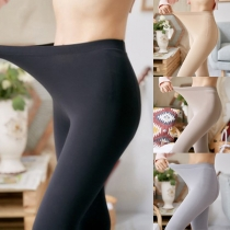Damen Stumpfhose Stretch-Leggings