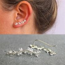 Chic Style Tree-branch Shaped Stud Earrings
