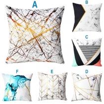 Fashion Printed Square Sofa Pillow Cushion