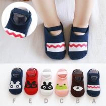 2 Paare Anti-Rutsch Babysöckchen Socken für Babys - mit süßem Motiv