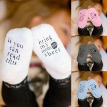 2 Paare Anti-Rutsch Babysöckchen Socken für Babys