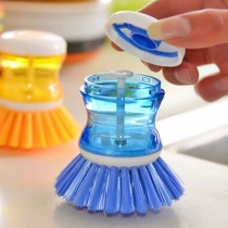 Creative Style Multifunctional Hydraulic Pressure Cleaning Pan Brush(The item was sold in random color)