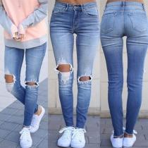 Modische Skinny Jeans mit Destroyed Optik