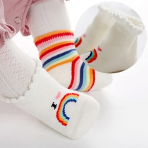 Fashion Rainbow Striped Sock for Babies